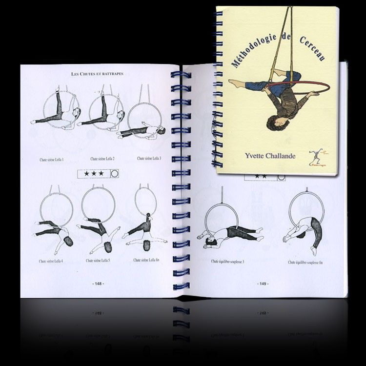 Aerial Ring Methodology Book Arte Aerial Dance Lyra Aerial