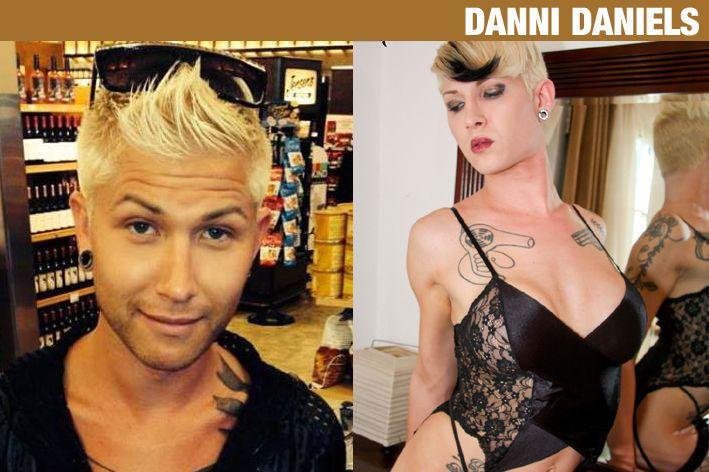 Danni Daniels Androgynous Transgender Crossdressers Change Looking For Women Feminine Style