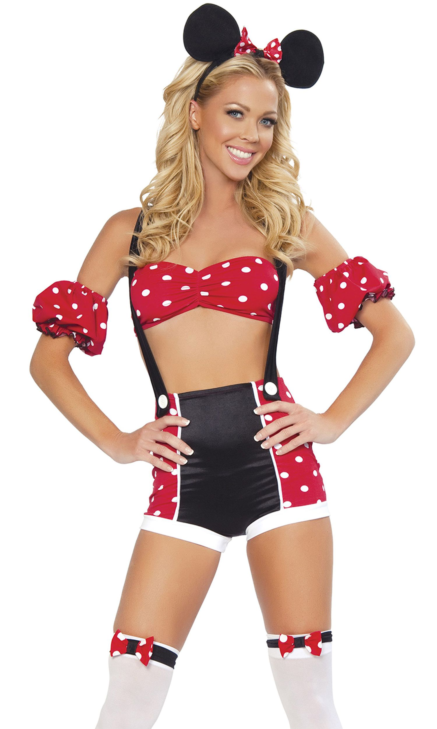 Forplay womens adult Mickey Mouse romper costume