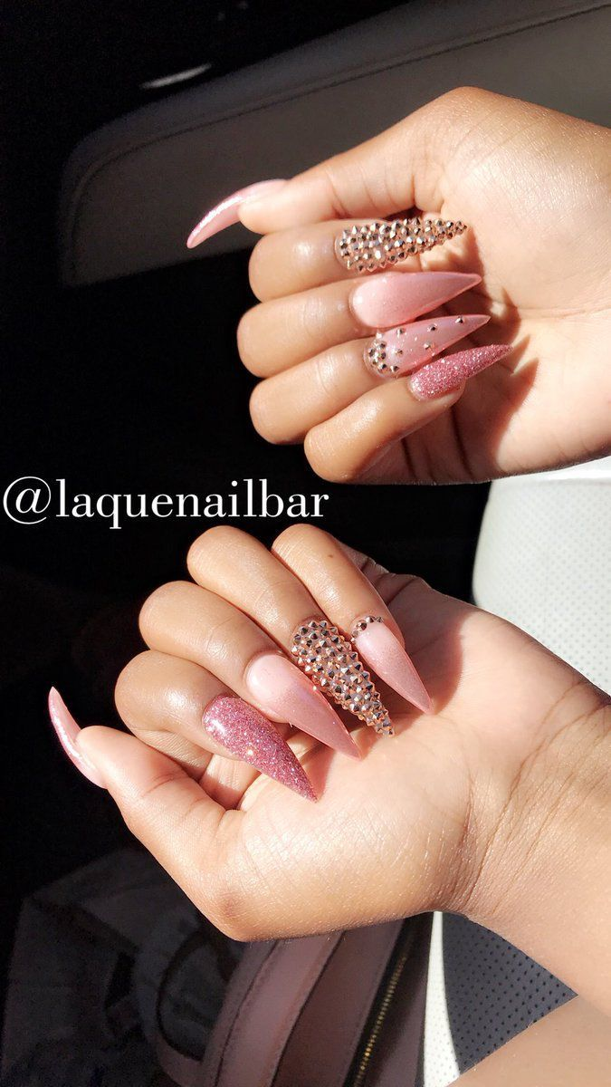 Photo of Pin by Plush Goddess Boutique on Make up in 2020 | Nails, Gel nails, Stiletto nails