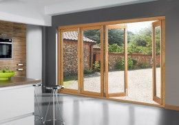 Buy Sliding Folding Patio Doors 10ft Bi Fold Wooden Sliding Patio Doors 4 Wood Patio Door With Images Glass Doors Patio Folding Patio Doors Sliding Glass Doors Patio