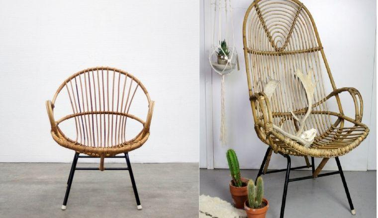 Zwarte Rieten Stoel : Rieten stoel. latest rieten stoel kuip vintage rohe fauteuil with
