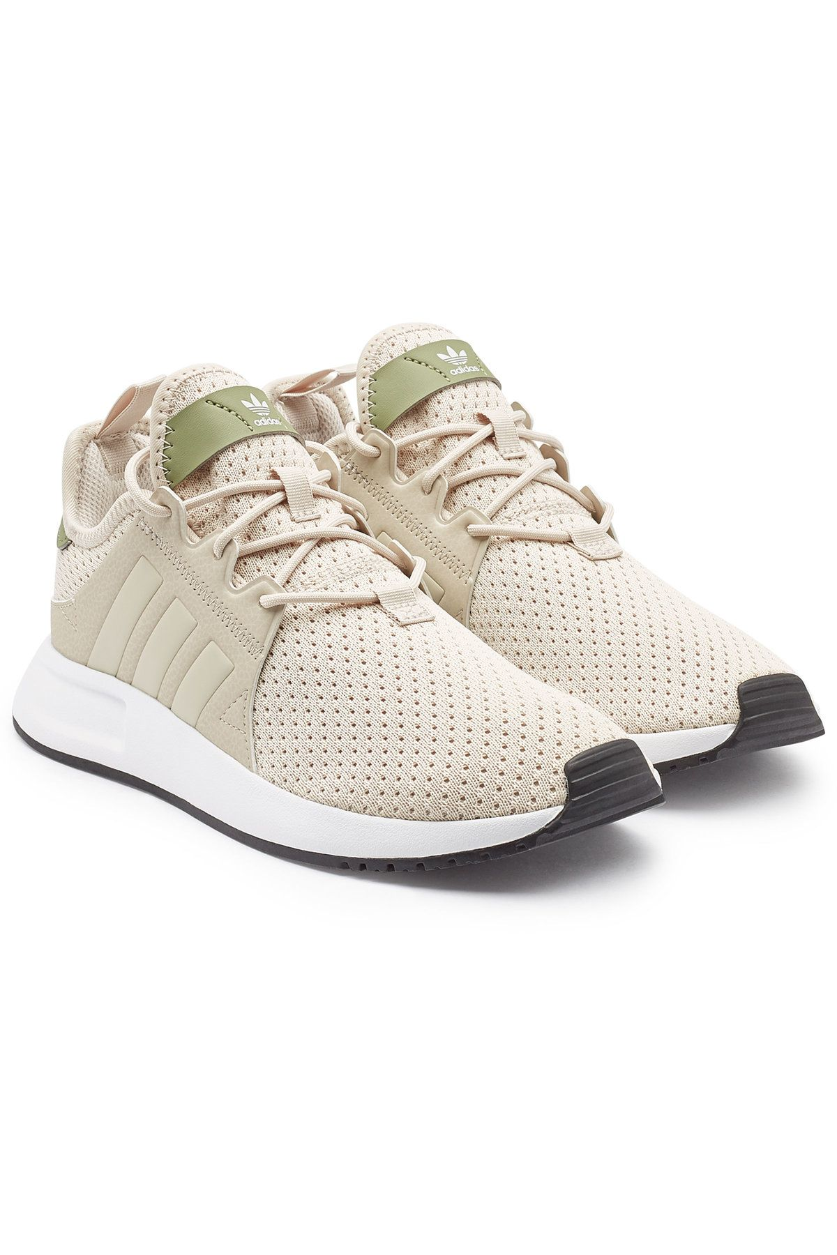 fcce259a944f8 Adidas Originals X Plr J Sneakers With Mesh In Beige | I love Adidas ...