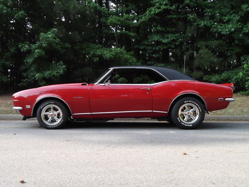 1968 Chevrolet Camaro For Sale By Owner Kennesaw Ga