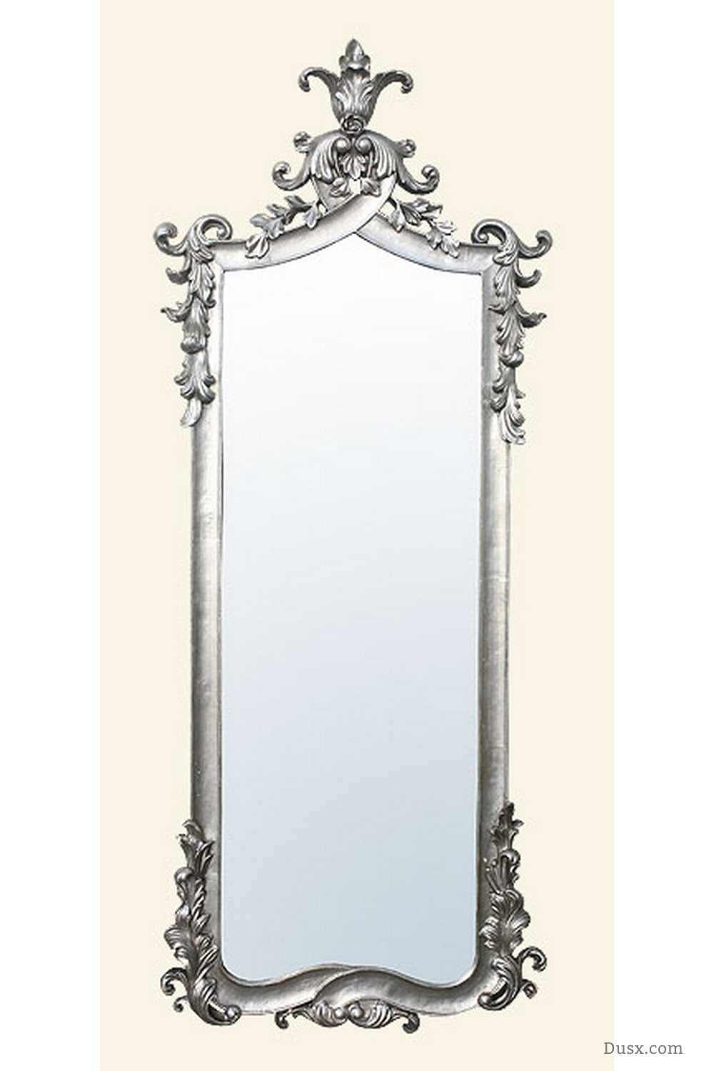 Giselle French Rococo Silver Bevelled Mirror : For sale at www.DUSX ...