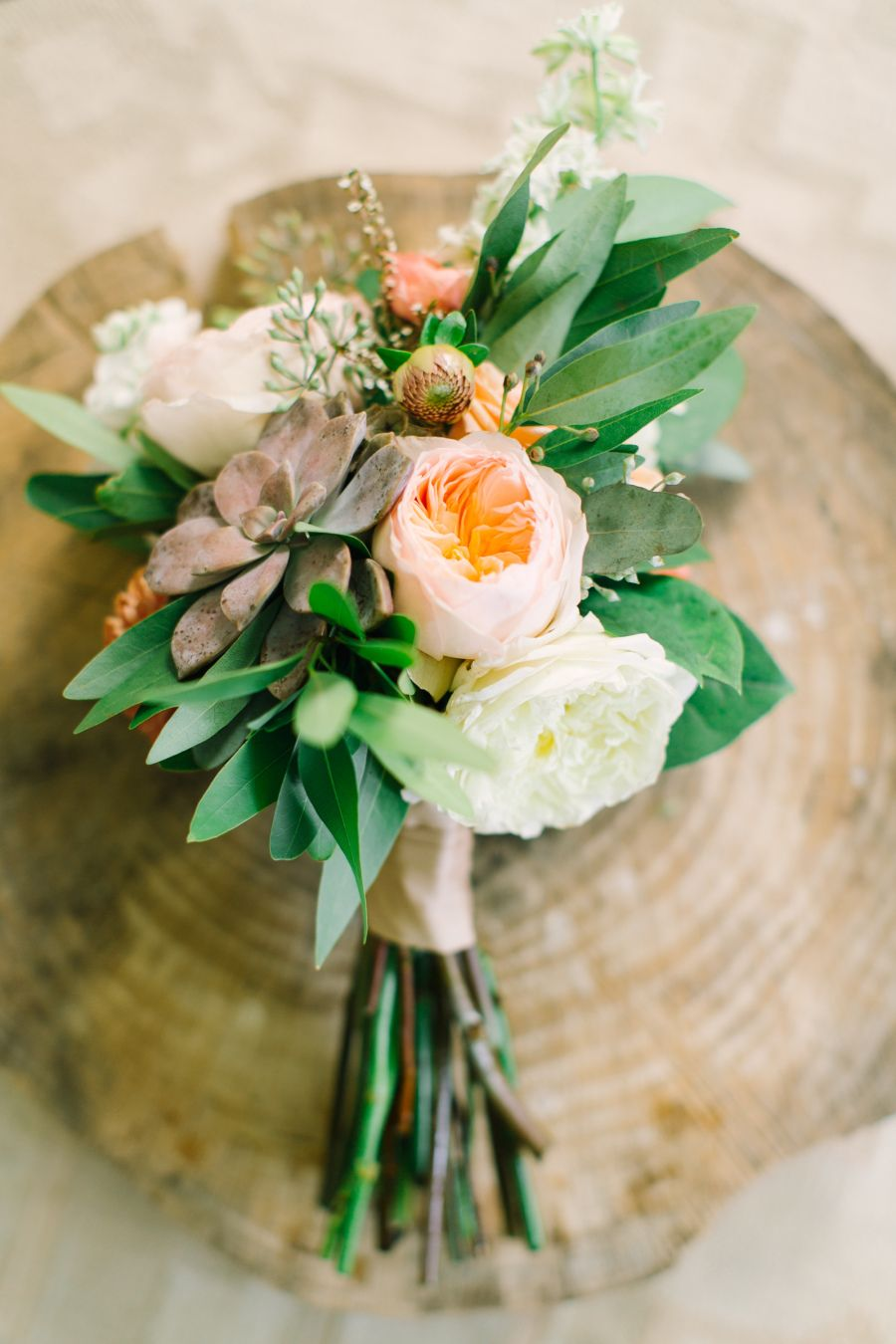 Photography: Mint Photography - mymintphotography.com Floral Design: Gypsy Floral - www.gypsyfloral.com   Read More on SMP: http://www.stylemepretty.com/2015/01/23/texas-outdoor-wedding-with-shades-of-blush/