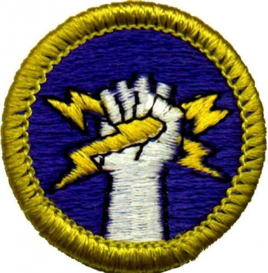 Image result for electricity merit badge