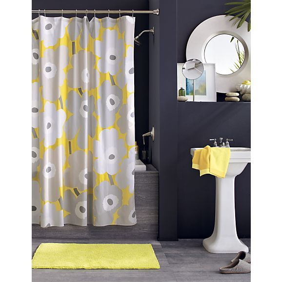I Definitely Want To Do A Yellow/navy/grey Combo For My Future Bathroom. Yellow Is Good Morning