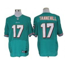 31e623dca Nike Ryan Tannehill Jersey Elite Team Color Green Miami Dolphins  17 ...