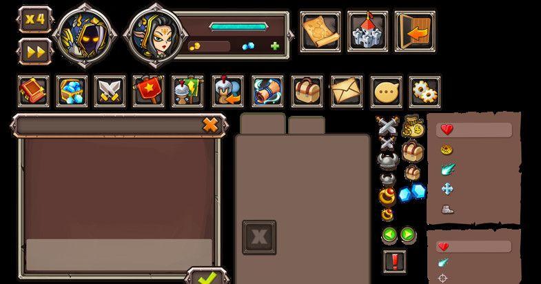 RPG Game UI #Game#RPG#GUI#UI   3d Design Software   3d design
