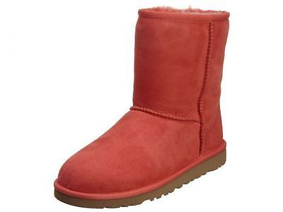 c8794101f69 Ugg Classic Big Kids 5251Y-CRF Coral Reef Sheepskin Boots Girls ...