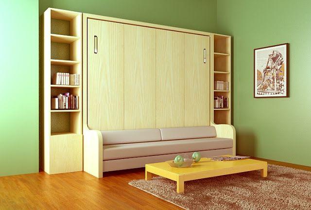 Giường gấp kết hợp sofa 1m2 x 2m gỗ đẹp Giường gấp đa