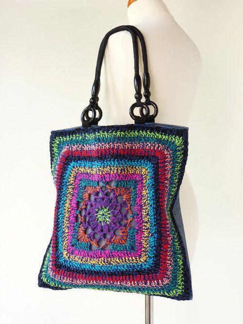 KABELA/TAŠKA háčkovaná 1110 crochet Pinterest Bolsos, Tejido y