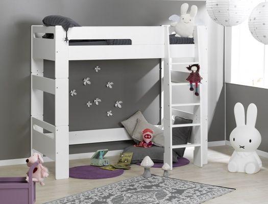 De Haute Qualite Lit Mezzanine Pour Créer Un Cocon Rassurant Dans La Chambre De Votre Enfant  Un Gain De Place évident