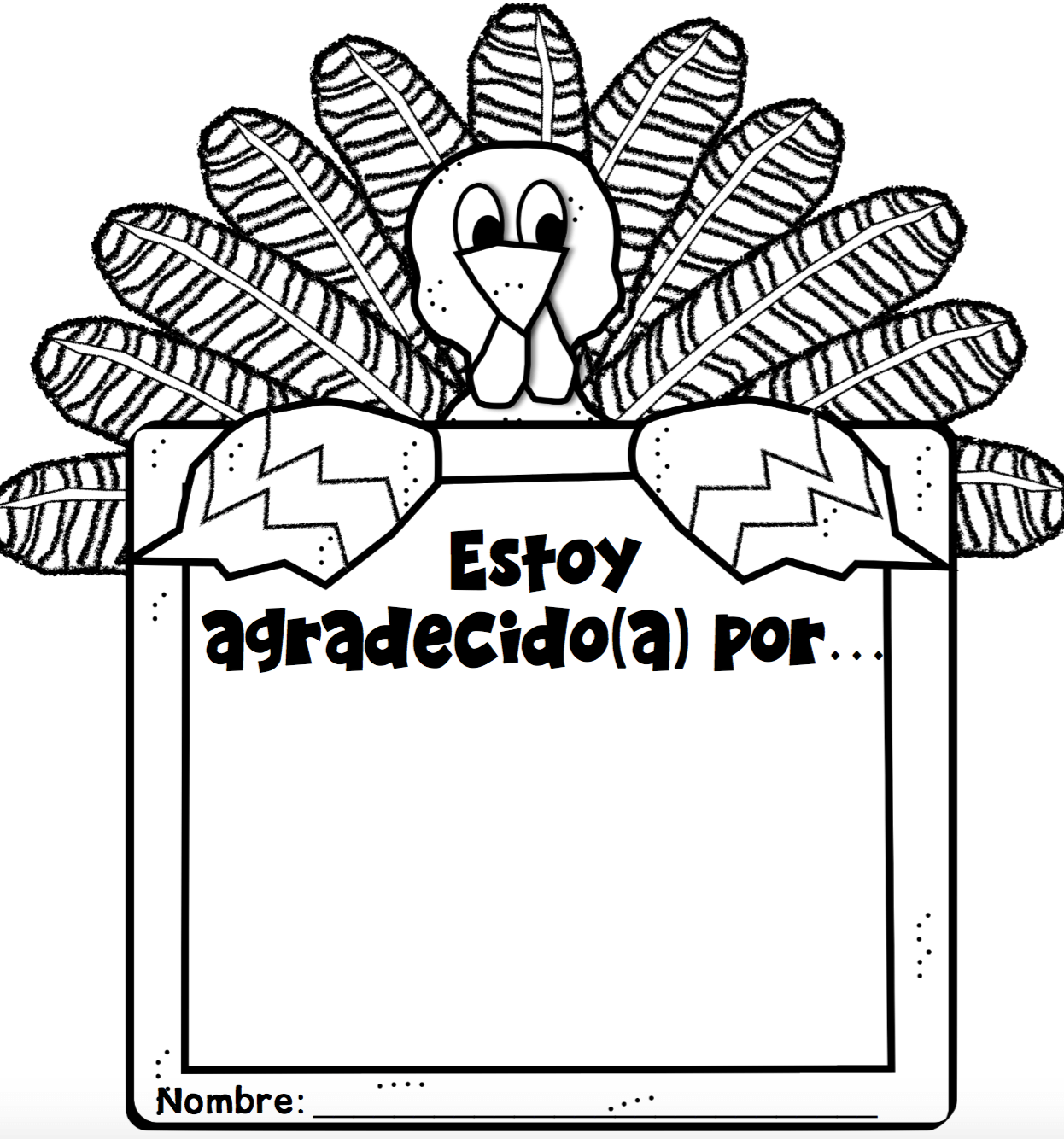 Thanksgiving Freebies In Spanish
