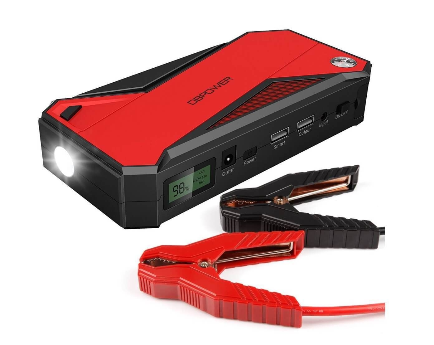 Portable Car Jump Starter Divine On The road Jump a