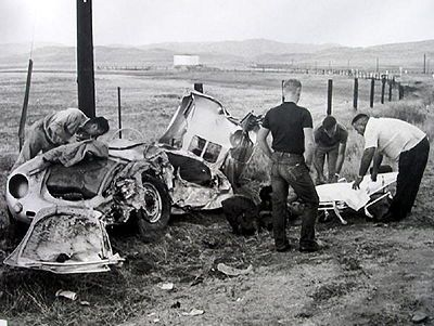 James Dean Car Crash Body