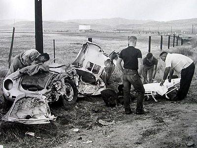 James Dean Car Crash Body