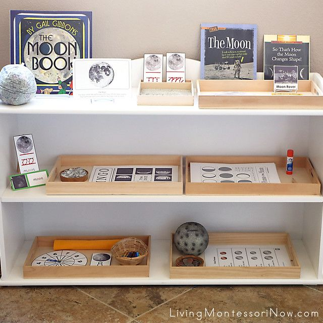 Photo of Free Moon Printables and Montessori-Inspired Moon Activities