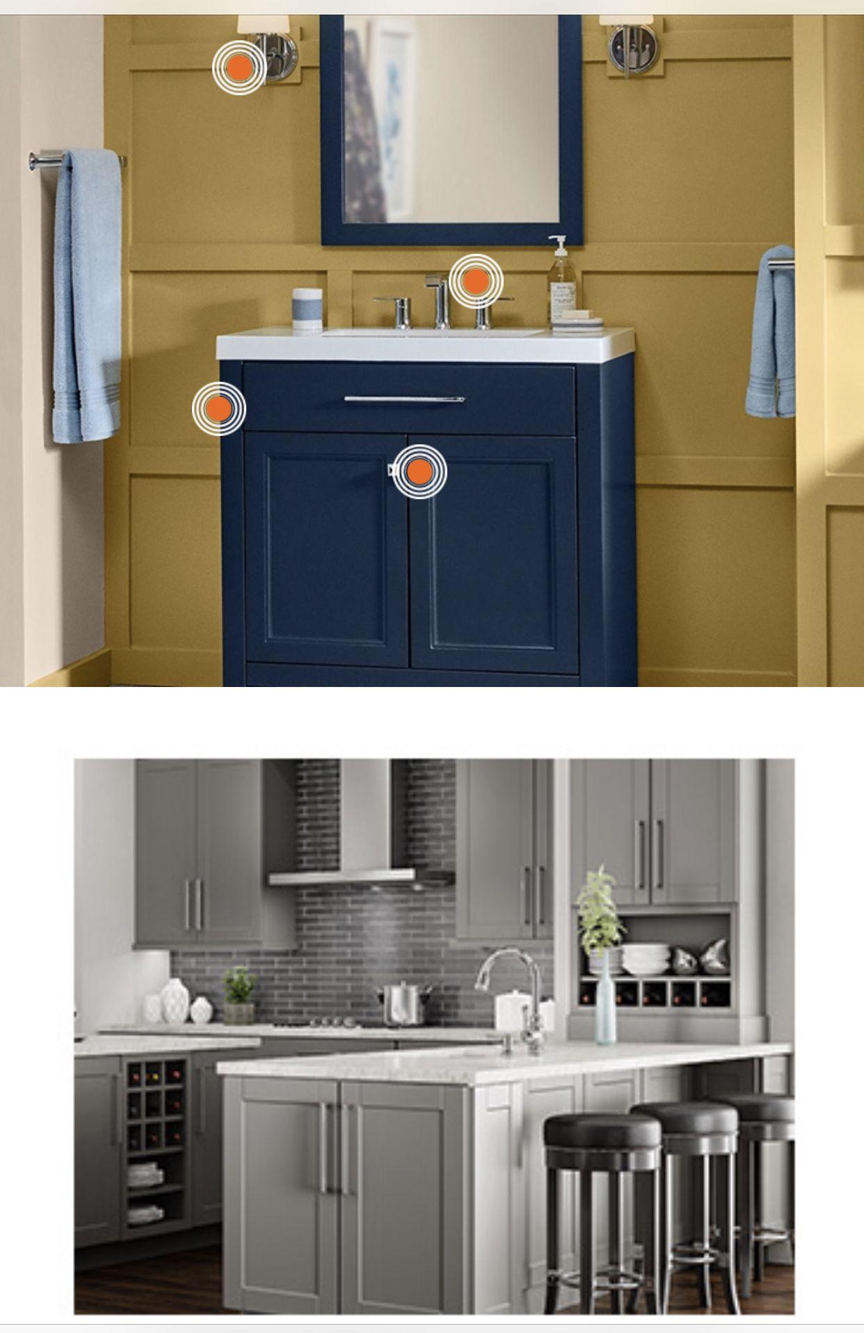 Home Depot/for the main bathroom, kitchen backsplash, and ...