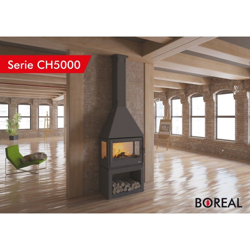Chimenea Con Turbina Boreal Modelo Ch5000 De 10 5 Kw En 2020