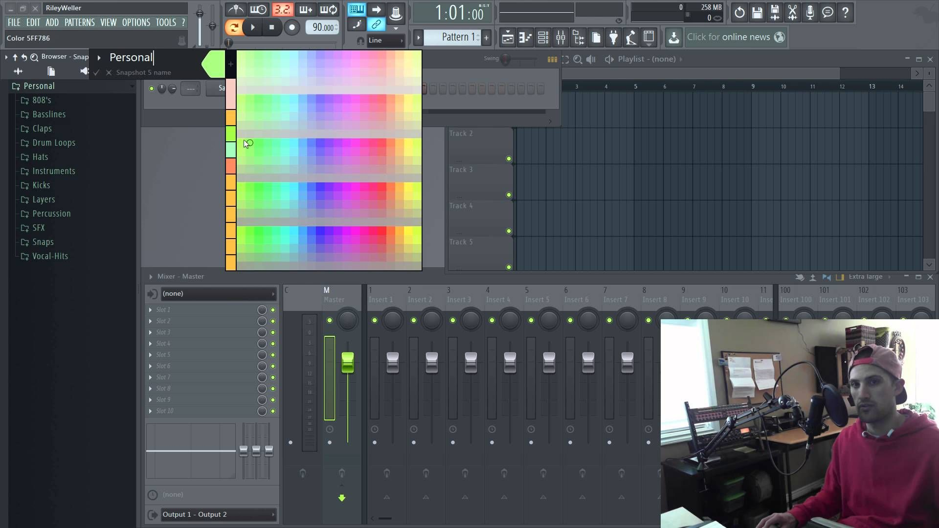 Creating Snapshot Icons in FL Studio's Browser www