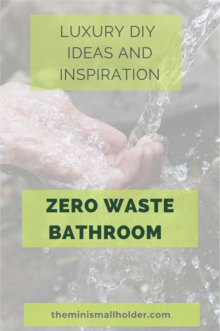 Zero Waste Bathroom Essentials | Zero waste swaps, Diy ...