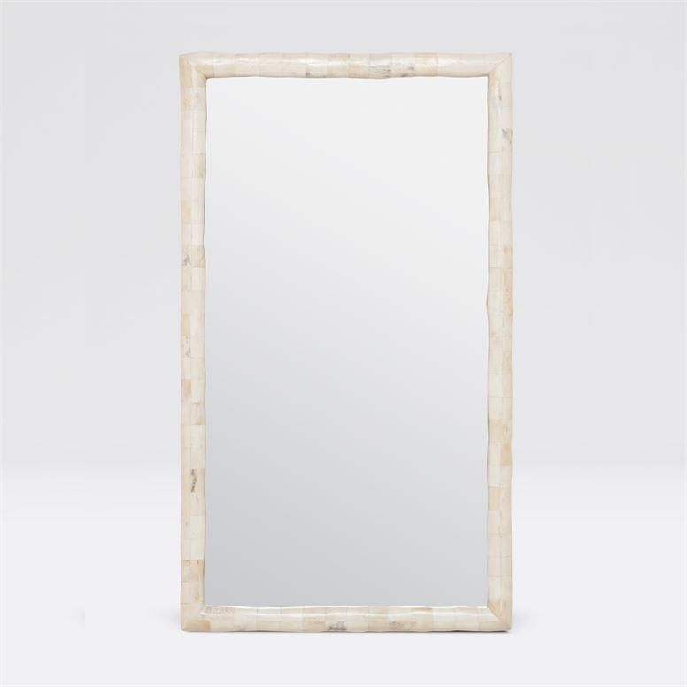 Pierson Large Mirror Polished Bone In 2020 Mirror Modern