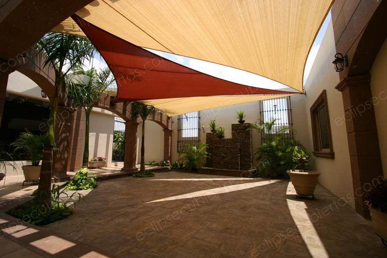 Mallasombra tensoestructuras velarias parasoles lonas - Lonas para terrazas ...