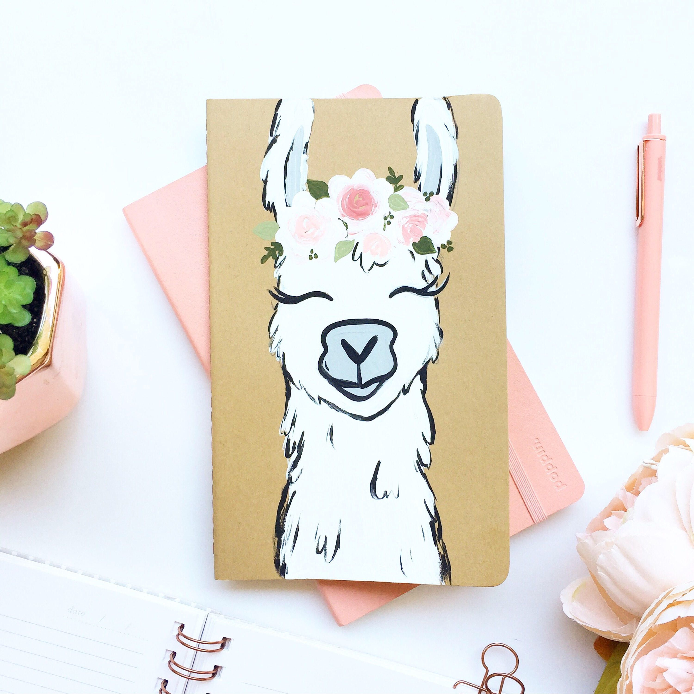 dea0cdae Boho llama notebook | Stationery in 2019 | Llama arts, Art, Art drawings