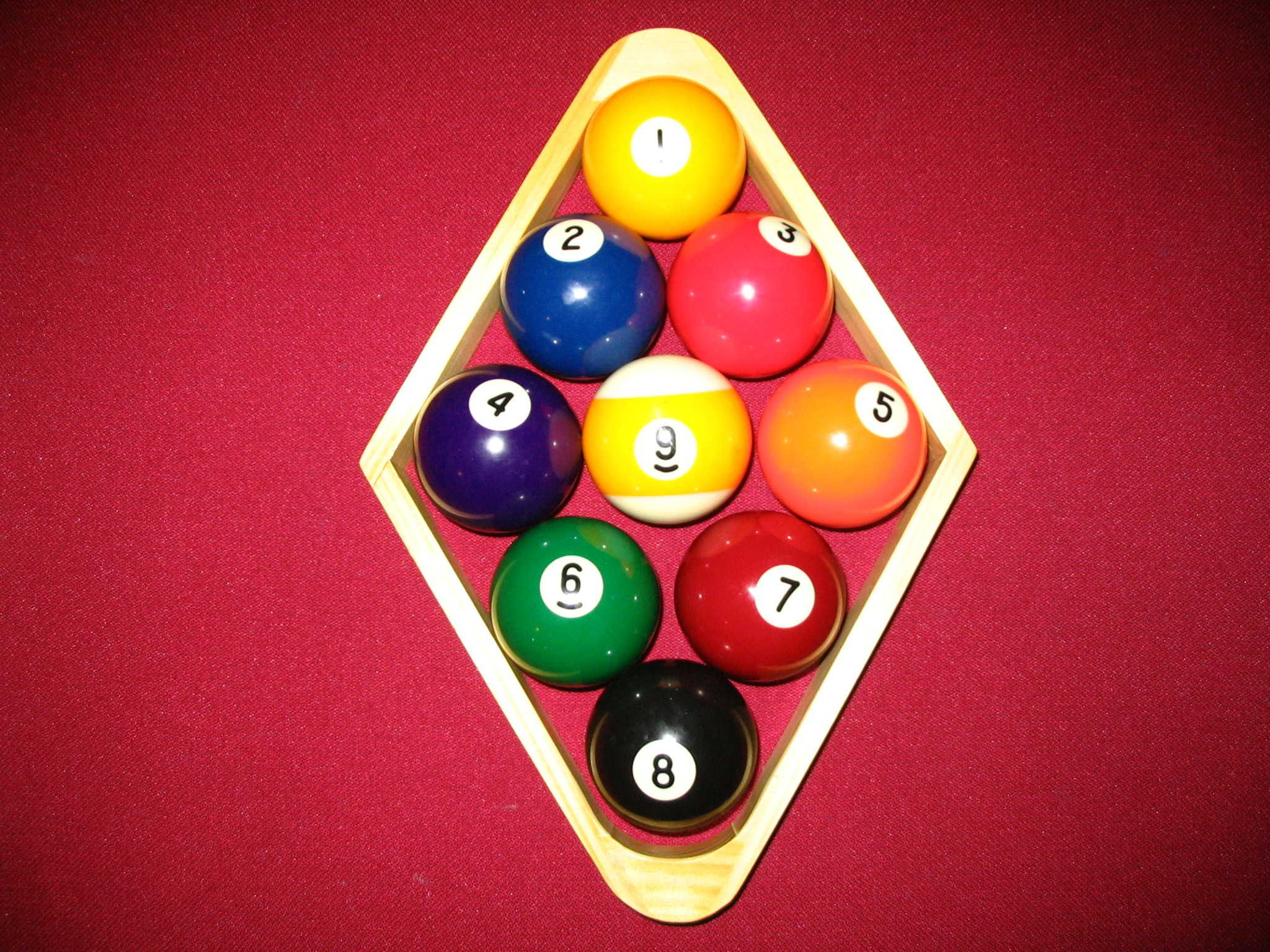 How To Play 9 Ball Pool The Simplified Version Pool Balls Ball Bar Games