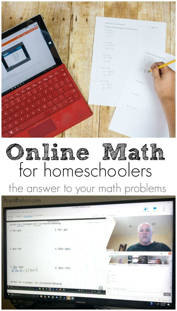Why Online Homeschool Math Courses are the Solution Math