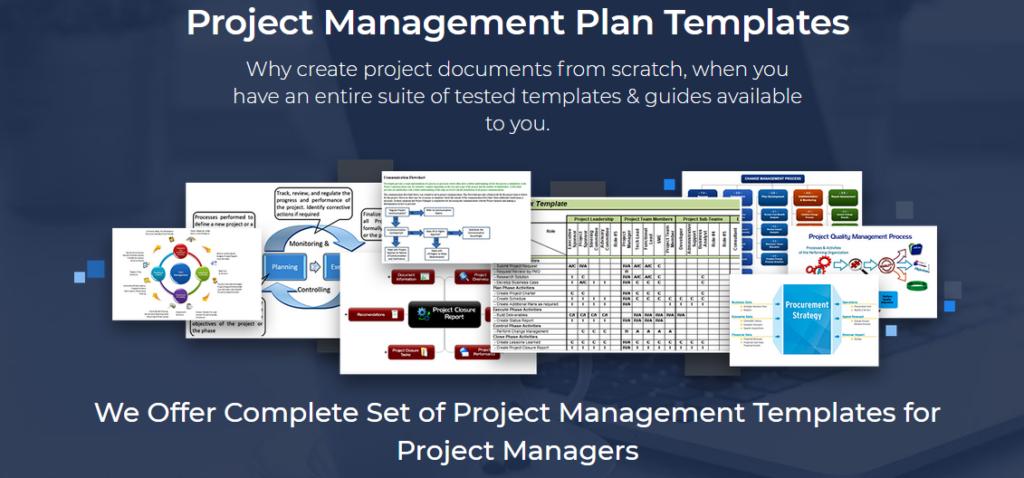 project scope management plan templates excel project management