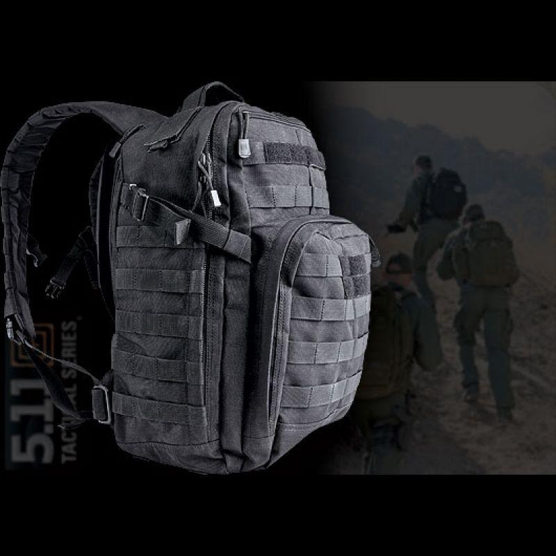 5.11 Rush 12 Backpack Black Backpacks, Tad gear, Black