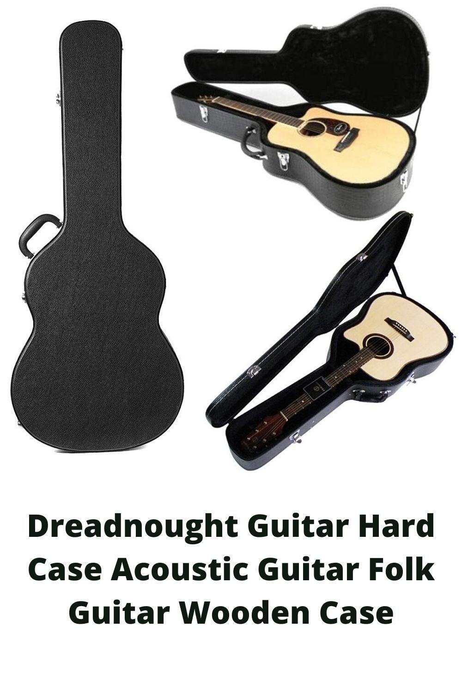Dreadnought Guitar Hard Case Acoustic Guitar Folk Guitar Wooden Case Electric Guitar Acoustic Guitar Guitar