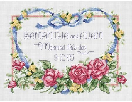 Wedding - Cross Stitch Patterns & Kits - 123Stitch com