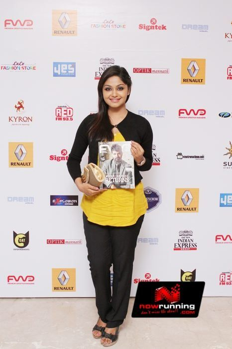 Shritha Sivadas at August Issue Cover Launch