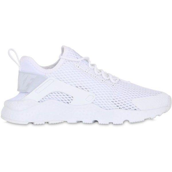 wholesale dealer 0600b c7de9 Nike Women Air Huarache Ultra Mesh Sneakers ( 130) ❤ liked on Polyvore  featuring shoes, sneakers, white, nike shoes, white shoes, nike footwear,  nike ...