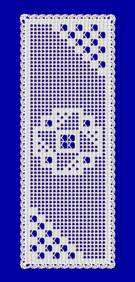 Crochet Table Runner Pattern Filet Crochet Simple Crochet Stitches