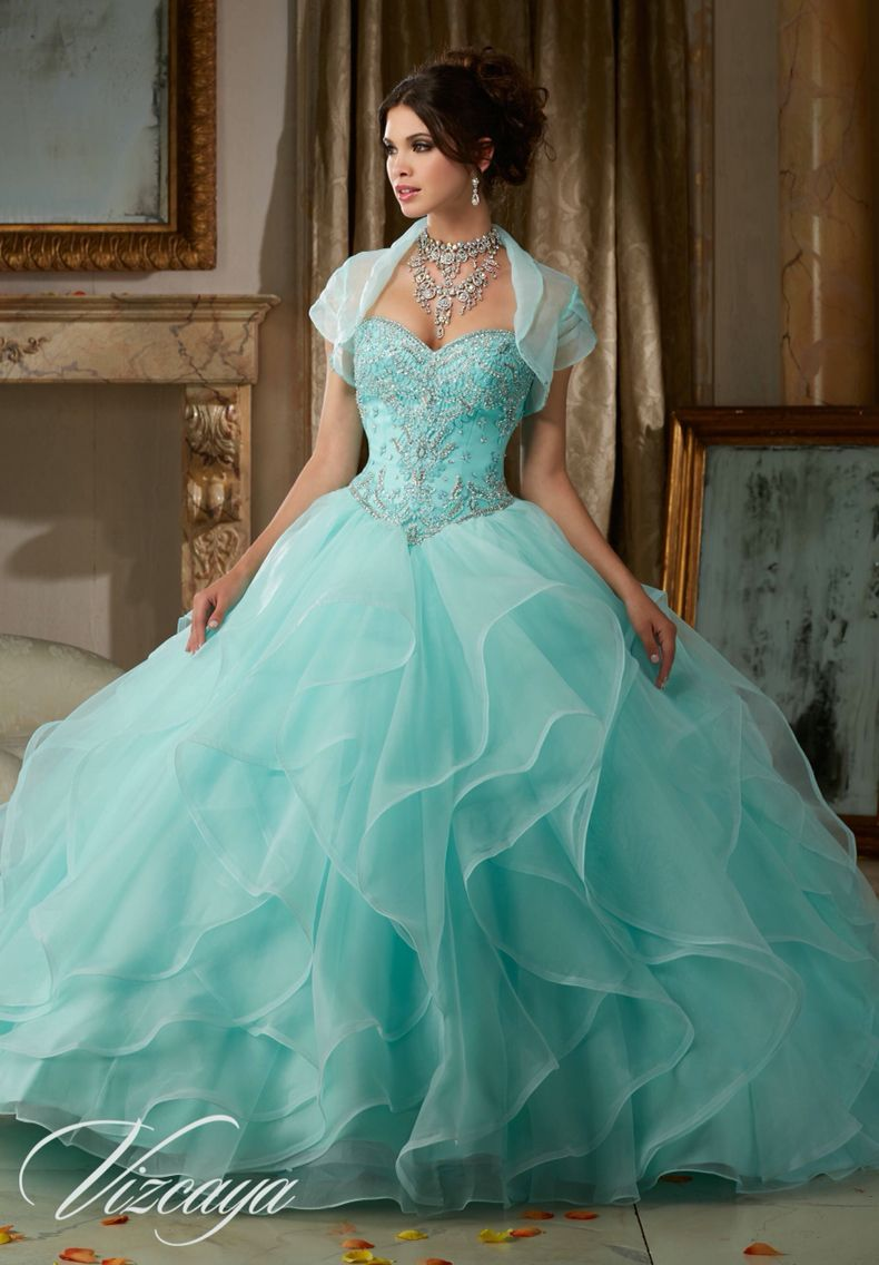 Morilee Vizcaya Quinceanera Dress 89115 GEMSTONE AND CRYSTAL BEADING ...