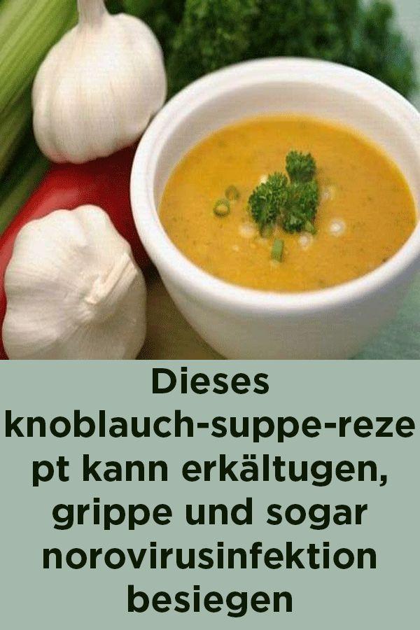 Knoblauchsuppe zur Gewichtsreduktion