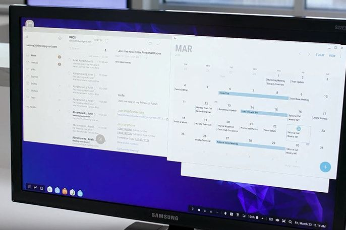 Using Multiple Apps Side by Side on Samsung DeX (With