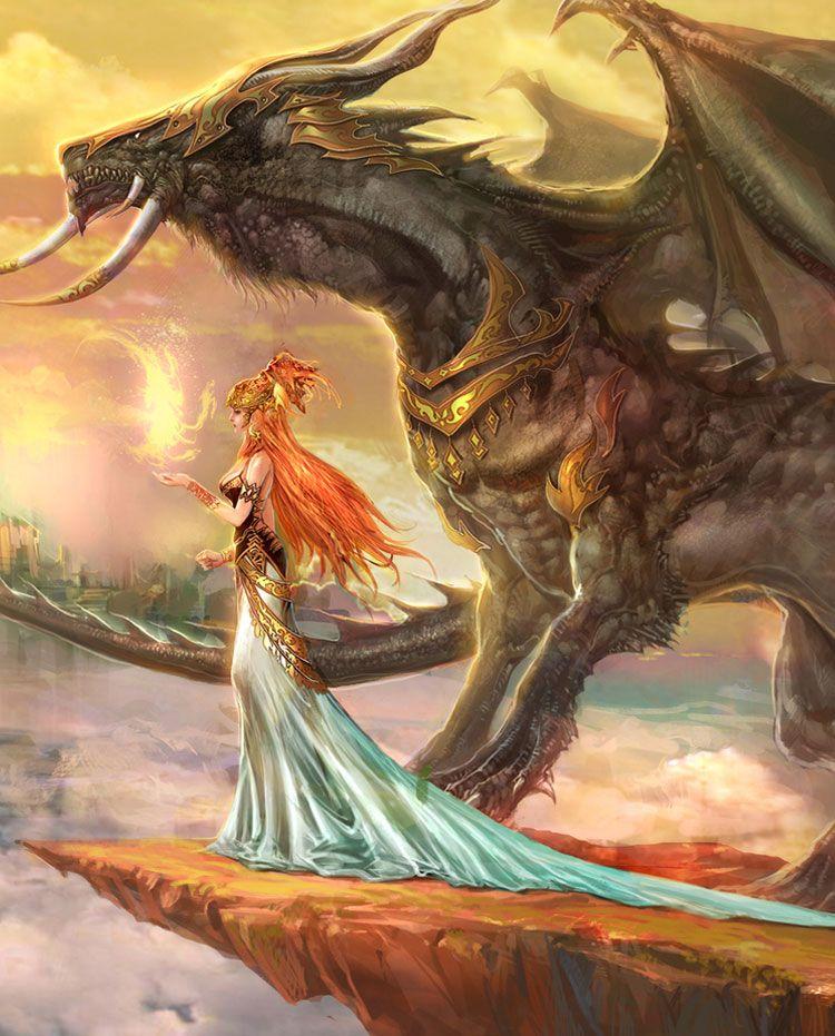 Dragon Protecteur 3 Art Fantastique Art A Theme Dragon Oeuvre De Dragon