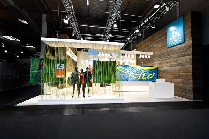 Trade Exhibition Stand Design : Odlo trade fair stand by laborrotwang friedrichshafen
