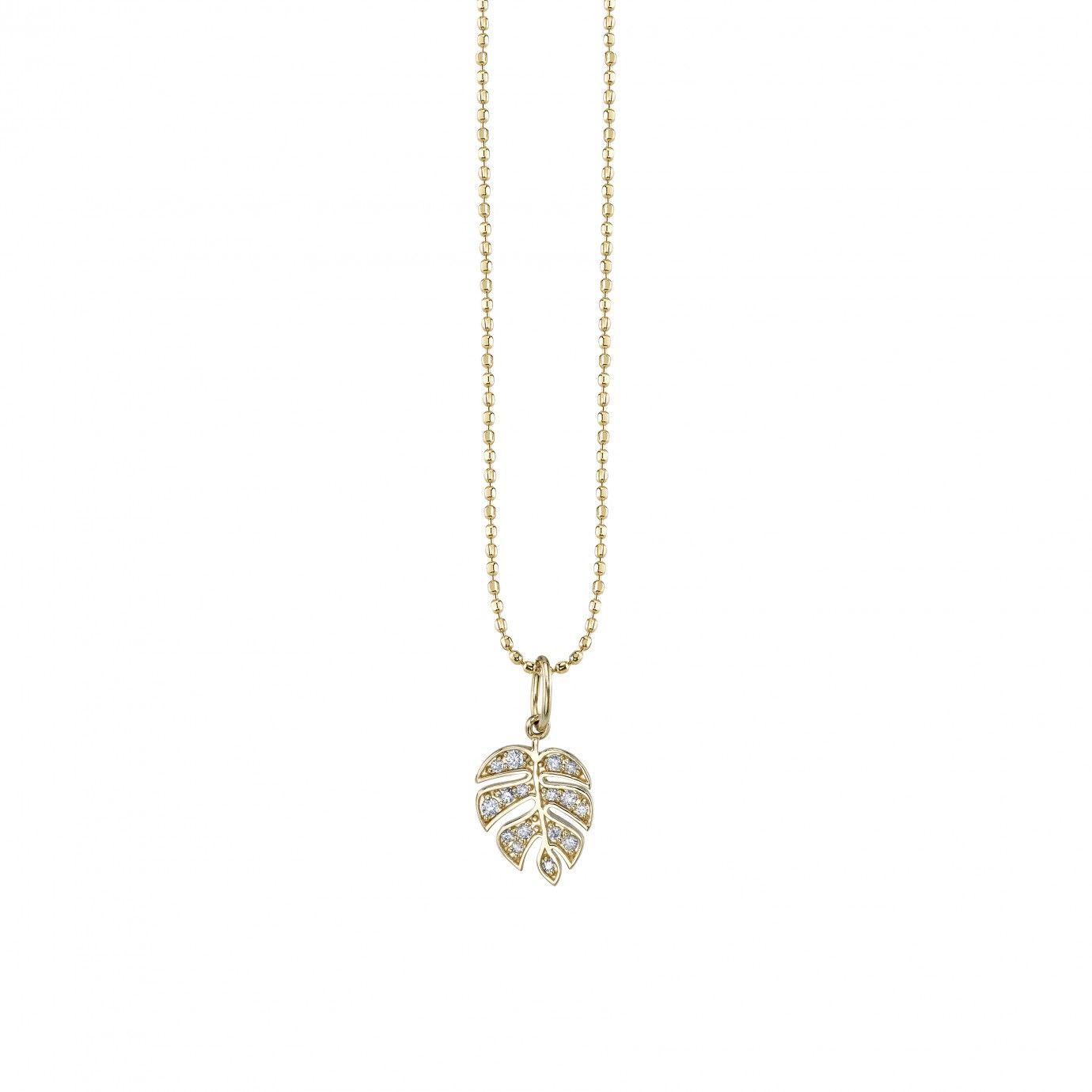 0.09ct Diamond Sapphire Hamsa Hand of Fatima Evil Eye Charm Pendant 14k Wht Gold