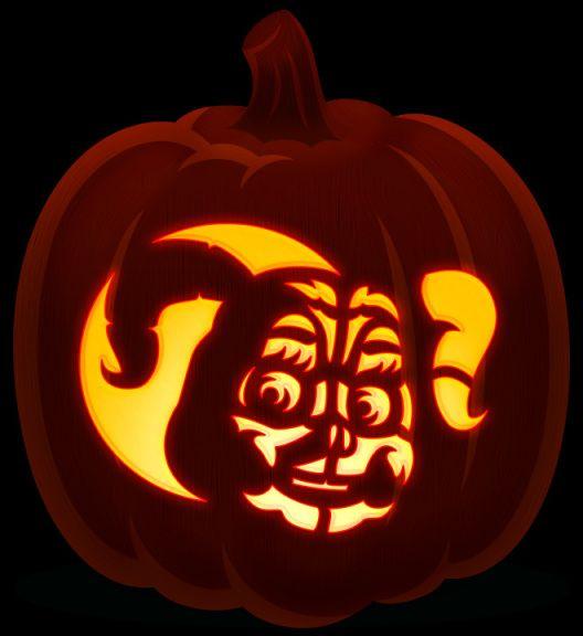 Circus Baby Cool Pumpkin Designs Pumpkin Design Pumpkin Carving