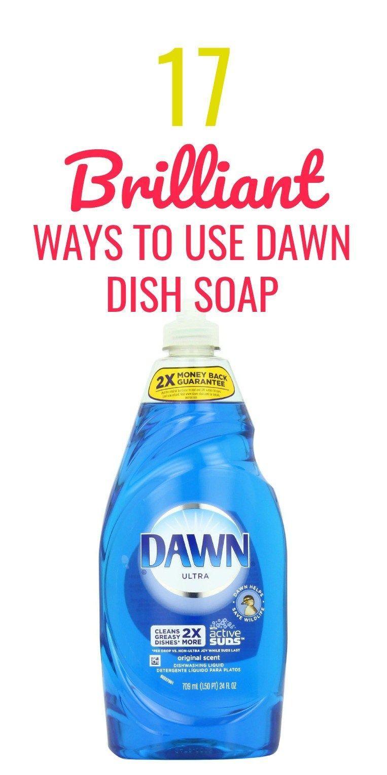 17 Genius Non Cleaning Dawn Dish Soap Hacks Dawn Dish Soap