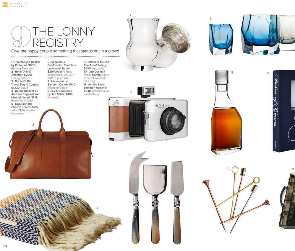 3.2.1.Glassware by Jeff Miller for Kontextur, @Lonny Kronen Magazine June, 2013. #modern #glass #design #decanter #kontextur
