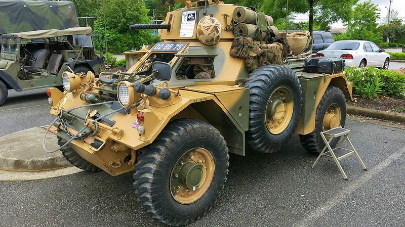 1955 Daimler Ferret Mark 2 3 Armoured Scout Car With Images
