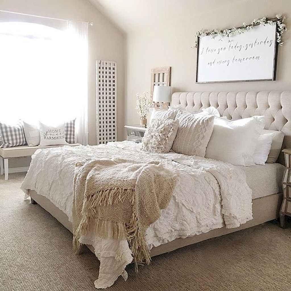 75 Farmhouse Master Bedroom Decorating Ideas - setyouroom.com